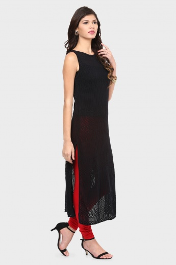 MELANGE Sleeveless Kurta