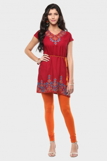 MELANGE Tie-Around Kurti
