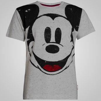 KIDSVILLE Mickey Mouse Printed T-shirt