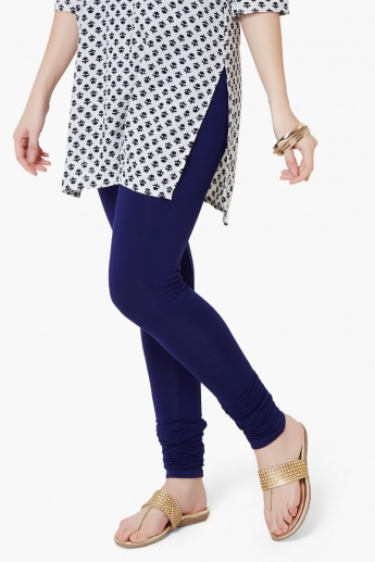 MELANGE Pleated Leggings