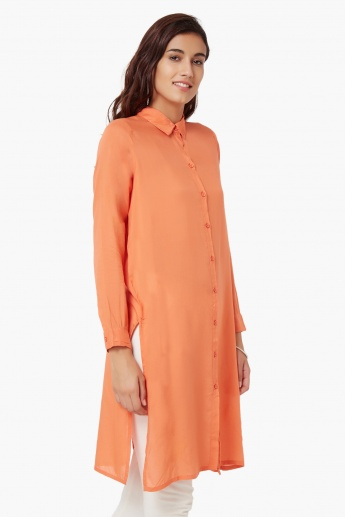 COLOUR ME Solid Shirt Kurta