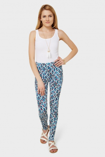 MELANGE Printed Leggings