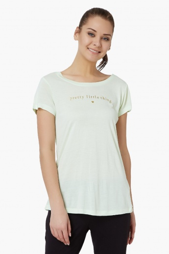 STRINGS Solid Sleep T-Shirt