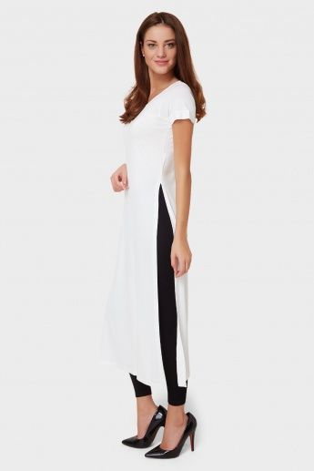 AND Solid Maxi Top