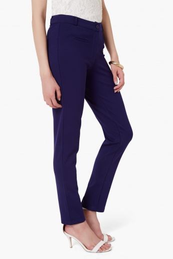 AND Solid Slim Fit Treggings