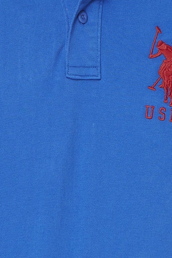 U.S. POLO ASSN. Half Sleeves Slim Fit Polo T- Shirt