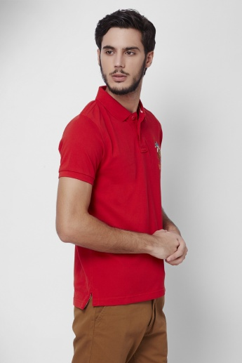 U.S. POLO ASSN. Polo Neck T-Shirt
