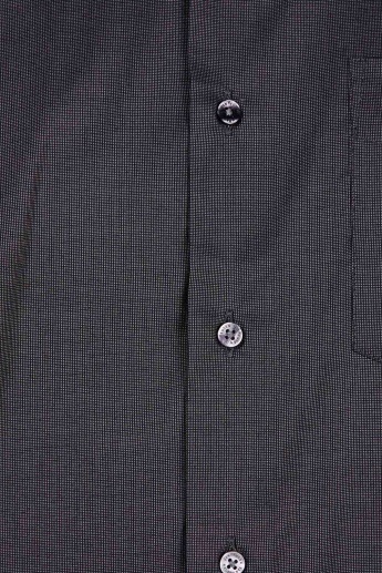 VAN HEUSEN Textured Full Sleeves Regular Fit Formal Shirt